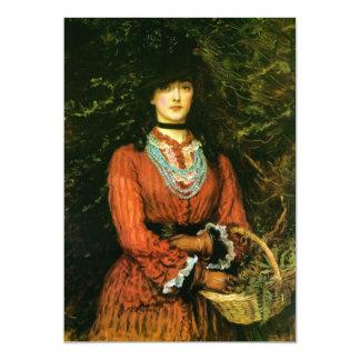 Miss Eveleen Tennant fine art 5x7 Paper Invitation Card
