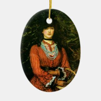 Miss Eveleen Tennant fine art Ceramic Ornament
