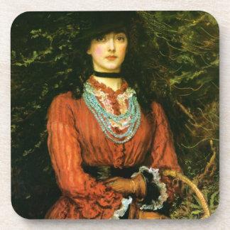 Miss Eveleen Tennant fine art Drink Coaster