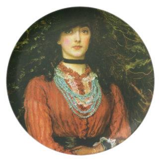 Miss Eveleen Tennant fine art Plate