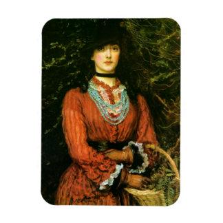 Miss Eveleen Tennant fine art Rectangular Photo Magnet