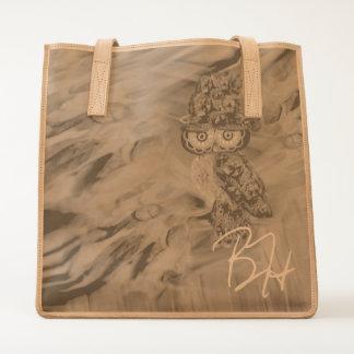 Miss Extravagance Fall Fashion Owl Tote Bag