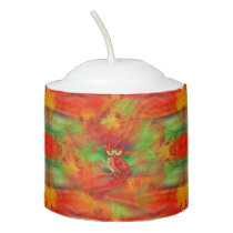 Miss Extravagance Fall Fashion Owl Votive Candle