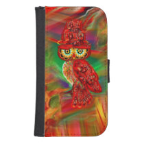 Miss Extravagance Fall Fashion Owl Wallet Case