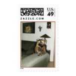 Miss Fancy Postage Stamps