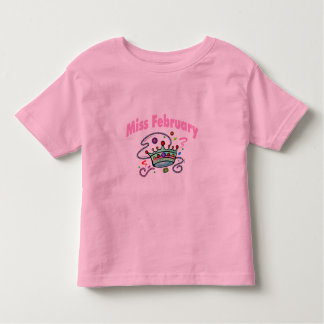 Miss February (2) Toddler T-shirt
