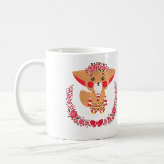 Miss Fennec Fox Coffee Mug