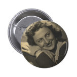 Miss Filomena. Pinback Button