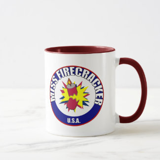 Miss Firecracker mugs
