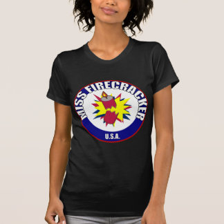Miss Firecracker Sheer Fashion t-shirt (fitted)