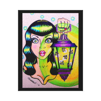 """""""Miss Firefly"""" Canvas Print"""