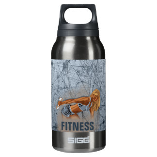 Miss Fitness II - 10 Oz Insulated SIGG Thermos Water Bottle