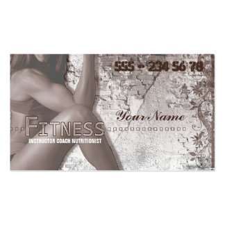 Miss Fitness III - Business Card