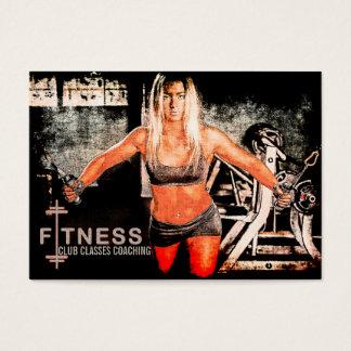 Miss Fitness V - Business Card