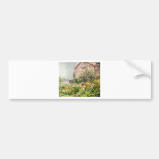 Miss Florence Griswold's Garden Car Bumper Sticker