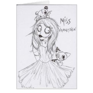 miss franestien card