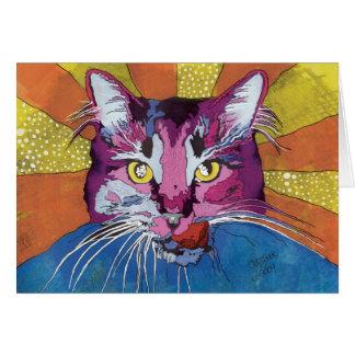 Miss Gabby Cat Card