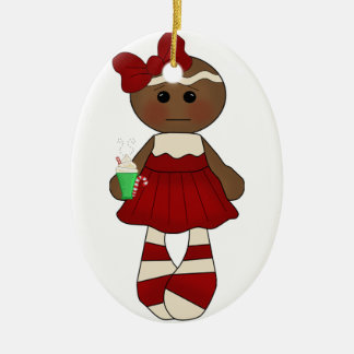 Miss Ginger Ornament *Oval #2*