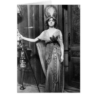 Miss Gladys Cooper [1888-1971] in Fancy Dress Card