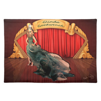 Miss Glinda Goodwench Placemat Cloth Placemat