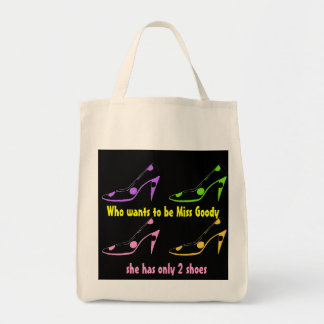 Miss Goody Two Shoes High Heels Tote Bag