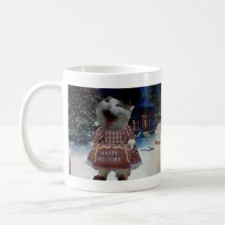 Miss Happyclaws Christmas Mug