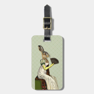 Miss Hare 2 Bag Tag