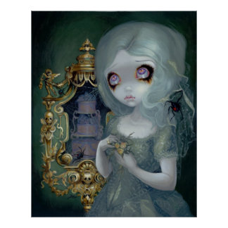 Miss Havisham ART PRINT Gothic Bride