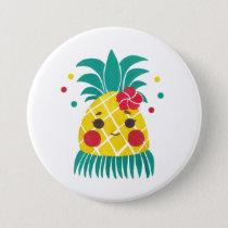 Miss Hawaiian Pineapple Button