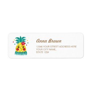 Miss Hawaiian Pineapple Label