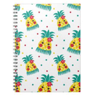 Miss Hawaiian Pineapple Notebook