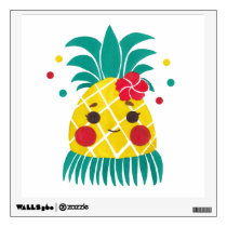 Miss Hawaiian Pineapple Wall Decal