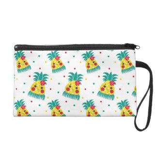 Miss Hawaiian Pineapple Wristlet Purse