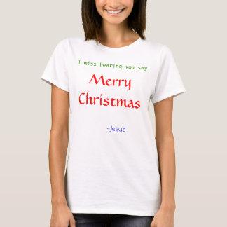Miss Hearing Merry Christmas T-Shirt