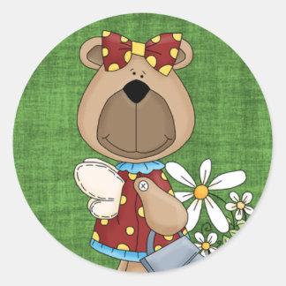 Honey Bear Stickers Zazzle