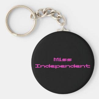 Miss Independent Keychain