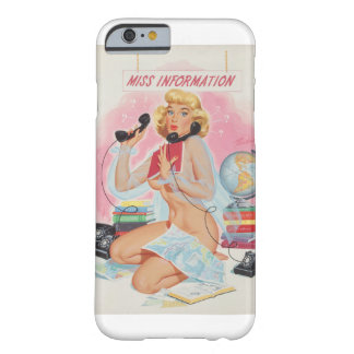 Miss Information, Bill Randall's  Pin Up Art Barely There iPhone 6 Case
