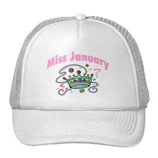 Miss January (2) Trucker Hat