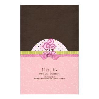Miss. Jen Basket Candy Bar Wrappers Stationery