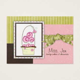 Miss. Jen Candy Chubby Business Cards