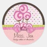 Miss. Jen Candy Large Merchandise Stickers