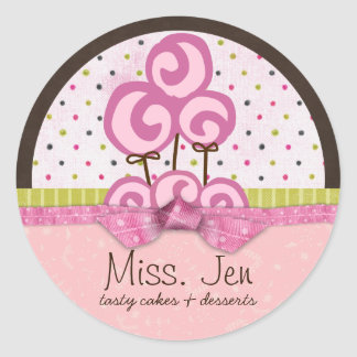 Miss. Jen Candy Large Merchandise Stickers