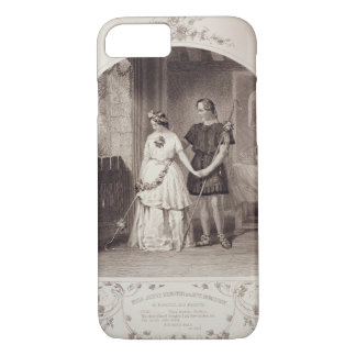 Miss Jenny Marston as Perdita and Mr F. Robinson a iPhone 7 Case