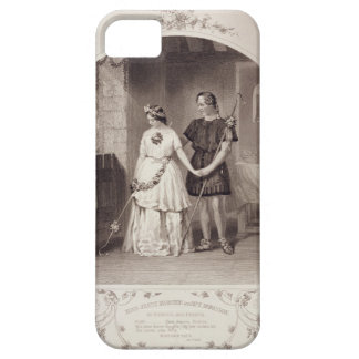Miss Jenny Marston as Perdita and Mr F. Robinson a iPhone SE/5/5s Case