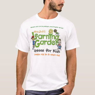 Miss Jodi's Learning Garden Logo Shirt