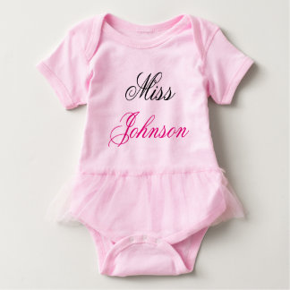Miss Johnson Baby Bodysuit