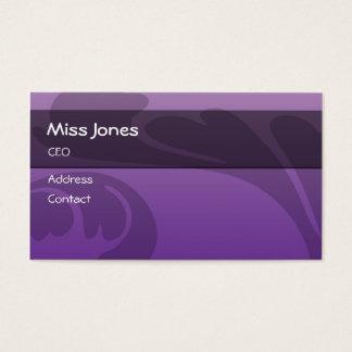 Miss Jones Business Card