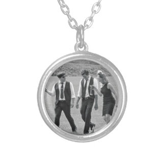 Miss Jubilee and the Humdingers Silver Plated Necklace