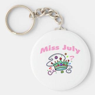 Miss July (2) Keychain