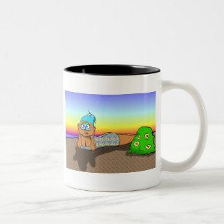 MIss  July Two-Tone Coffee Mug